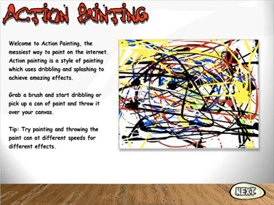 BBC : Action Painting